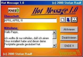 Screenshot für Hot Message